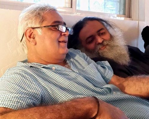 Hansal Mehta with his brother