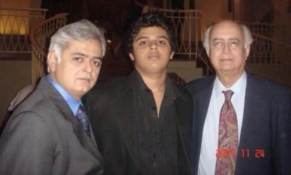 Hansal Mehta with his son Jai