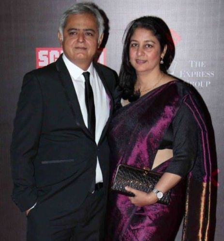 Hansal Mehta with his Safeena