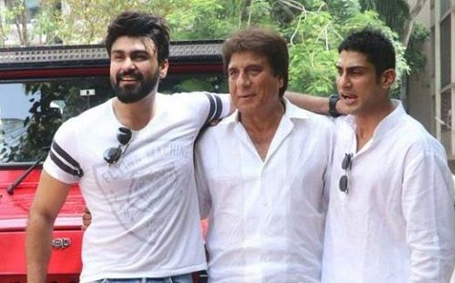 Raj Babbar with his sons