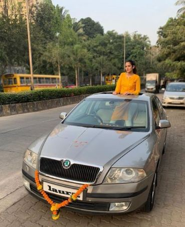 Riya Kishanchandani's car