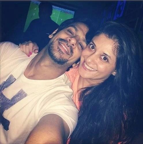 Karan Veer Mehra with Devika