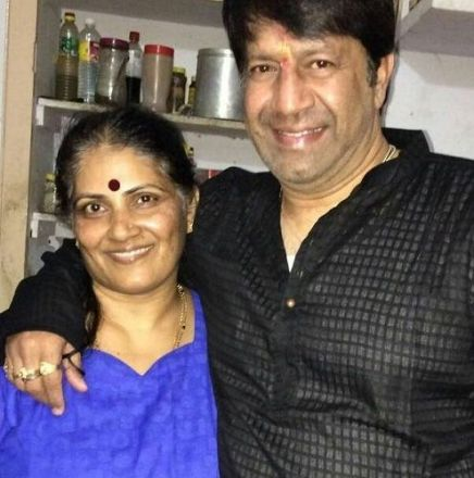 Shankar Aswath and his wife