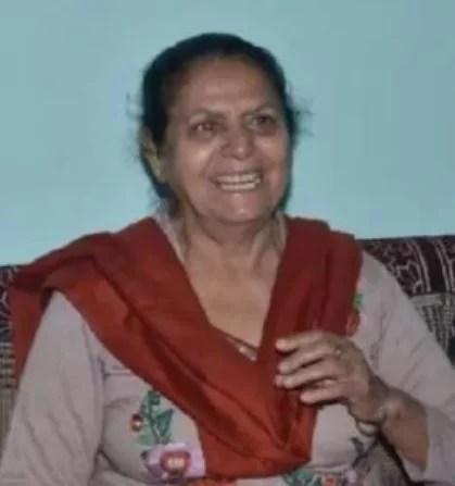 Rashmi Tyagi's mother, Sushma Tyagi