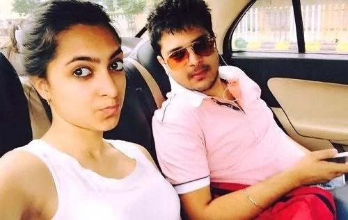 Agriya Bhatia with her brother
