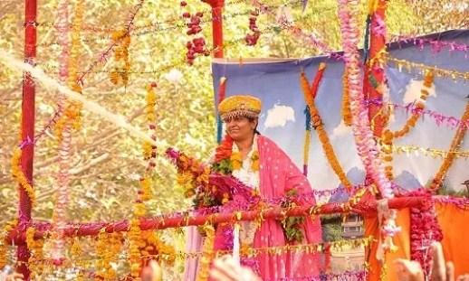 Bharti Shri Ji on the eve of Holi