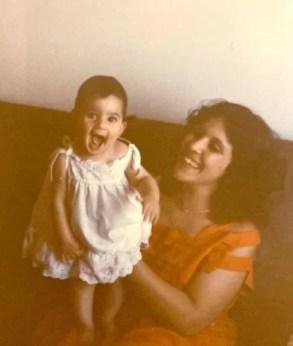 Maisa Abd Elhadi in childhood