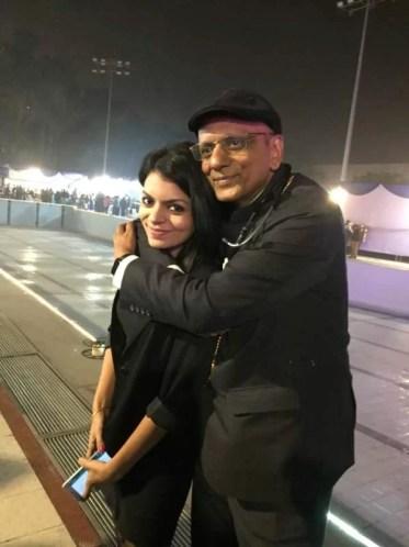 Dr. K. K. Aggarwal with his daughter, Naina Aggarwal