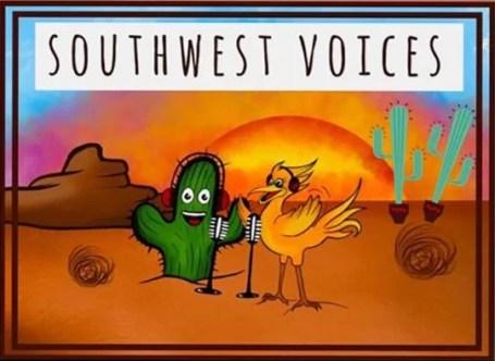 Southwest Voices logo