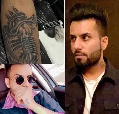 DJ Flow's tattoos