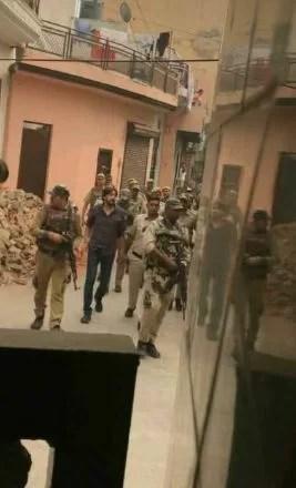 Neeraj Bawana in police custody