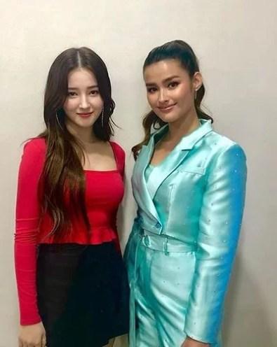 Nancy with Liza Soberano