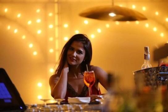 Shipra Khanna at a party