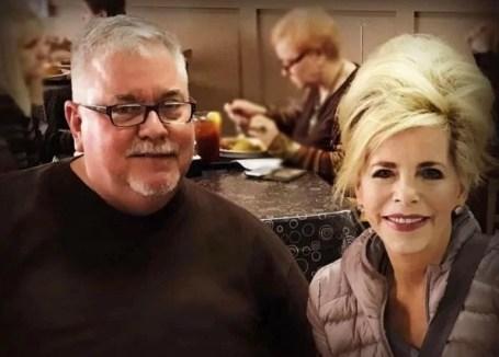Gwen Shamblin Lara with her first husband, David Shamblin