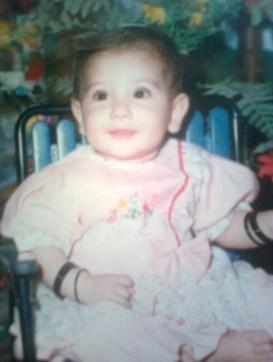 Hina Altaf's childhood picture