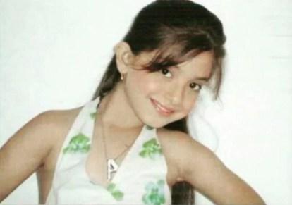 Arisha Razi's childhood picture