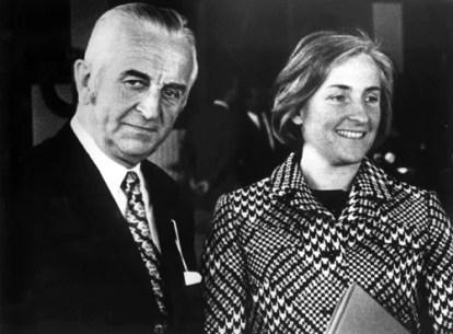 Herbert Werner Quandt with Johanna Quandt