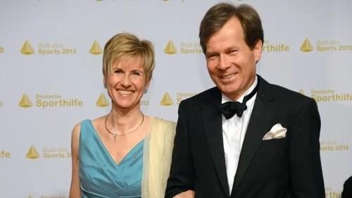 Susanne Klatten with her husband, Jan Klatten
