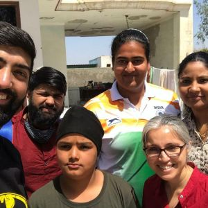 kamalpreet Kaur Family Photo