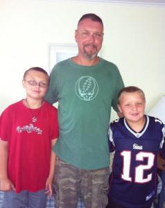 Calvin, Matt Freer and Graham of Freer and Son HVAC.