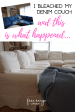 I Bleached My Denim Couch And This Is What Happened Free Range Cottage