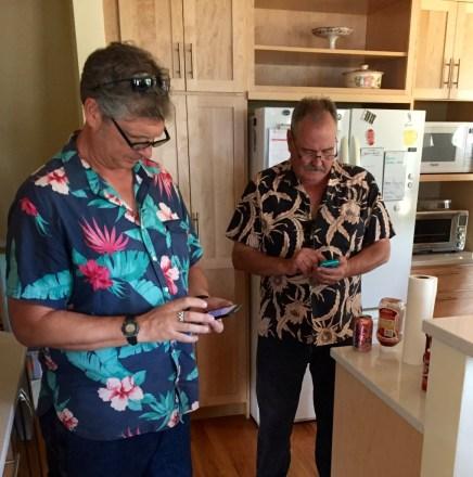 Synchronize phones