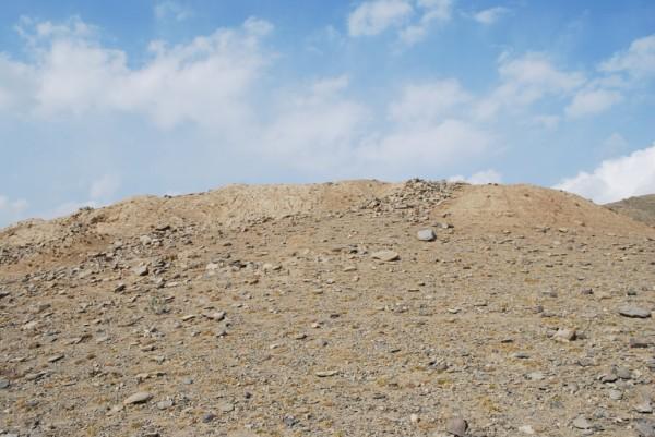 The Gandamack Hill today
