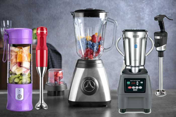 7 Different Types of Blenders and Their Uses