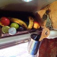 fruit basket kitchen utensils