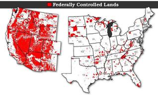federally controlled lands