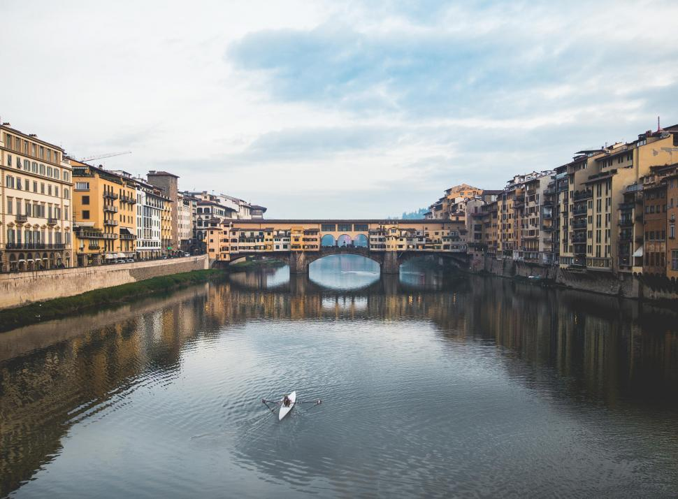 Free Stock Photo of Ponte Vecchio bridge over the Arno River in Florence. Italy Online | Download Latest Free Images and Free Illustrations