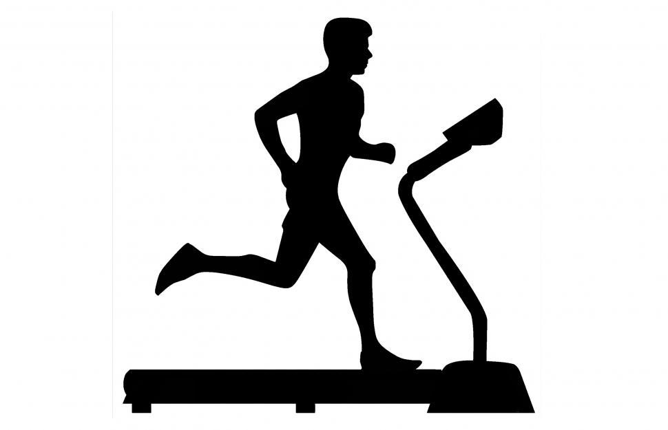 Get Free Stock Photos of Treadmill silhouette Online