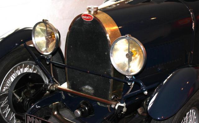 Bugatti Type 40 Grand Sport 1929 - detail