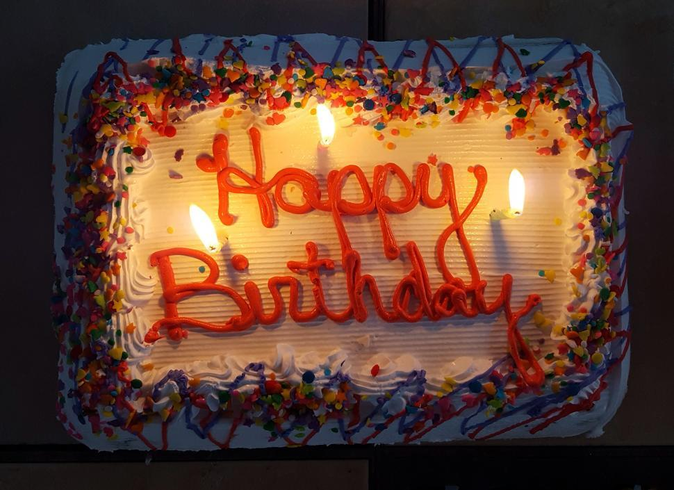 Get Free Stock Photos Of Happy Birthday Cake And Candles Online