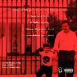 Contracapa - EP Coração No Gelo - Arte por Lázaro Júnior