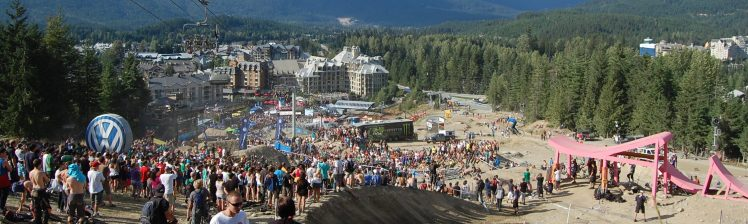 Crankworx Whistler - the place to be