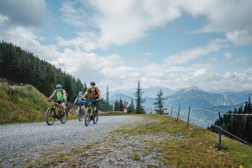 Gemütliche E-Bike Tour in der Hochsteiermark