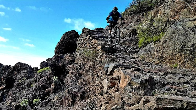 Rock steps everywhere - La Gomera – Trails & Hippies