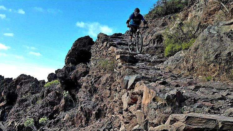 Rock steps everywhere - La Gomera – Trails & Hippies