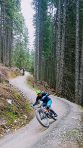 Richtiges E-Mountainbike Camp in Saalbach