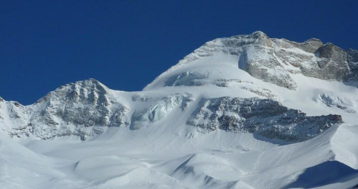 Wildlahner Scharte (3220 m) am Olperer, Freeride Hochtour