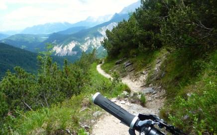 Alpspix Trail, Bernadeinsteig, Jägersteig