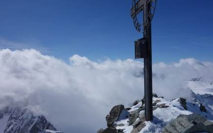 Ruderhofspitze Süd, Freeride Skitour