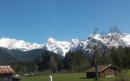 Karwendel West-Seite bei Mittenwald, 10.05.17
