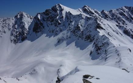 Finstertaler Schartenkopf und Kraspesspitze Skitour
