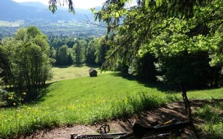 Fockenstein und Geierstein, Lenggrieser Trail-Klassiker