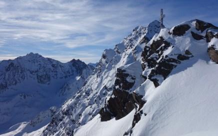 Schöntalspitze (3.002 m), Freerideen vom Feinsten