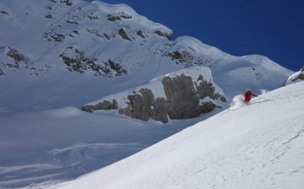 Elmer Muttekopf, Freeride Skitour