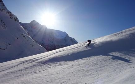 Westlicher Seblaskogel, Freeride Skitour