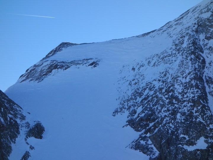 Östliche Seespitze: Gipfelhang, 27.01.2018